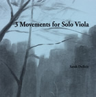 3 Movements for Solo Viola